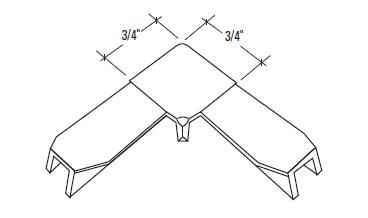 S-351P Straight Cut Corners