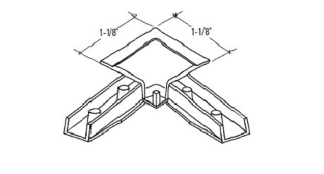 S-356P Straight Cut Corners