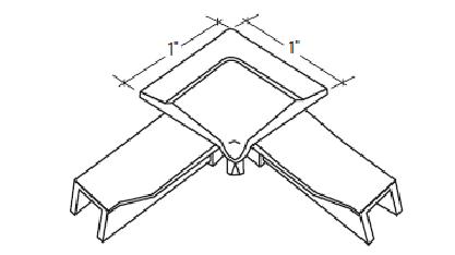 S-358P Straight Cut Corners