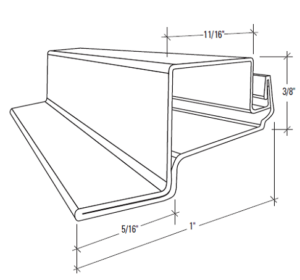 S-130-Screen-Bar-with-Lip