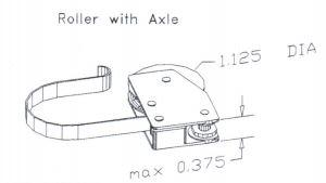 PSD standard roller 3-242